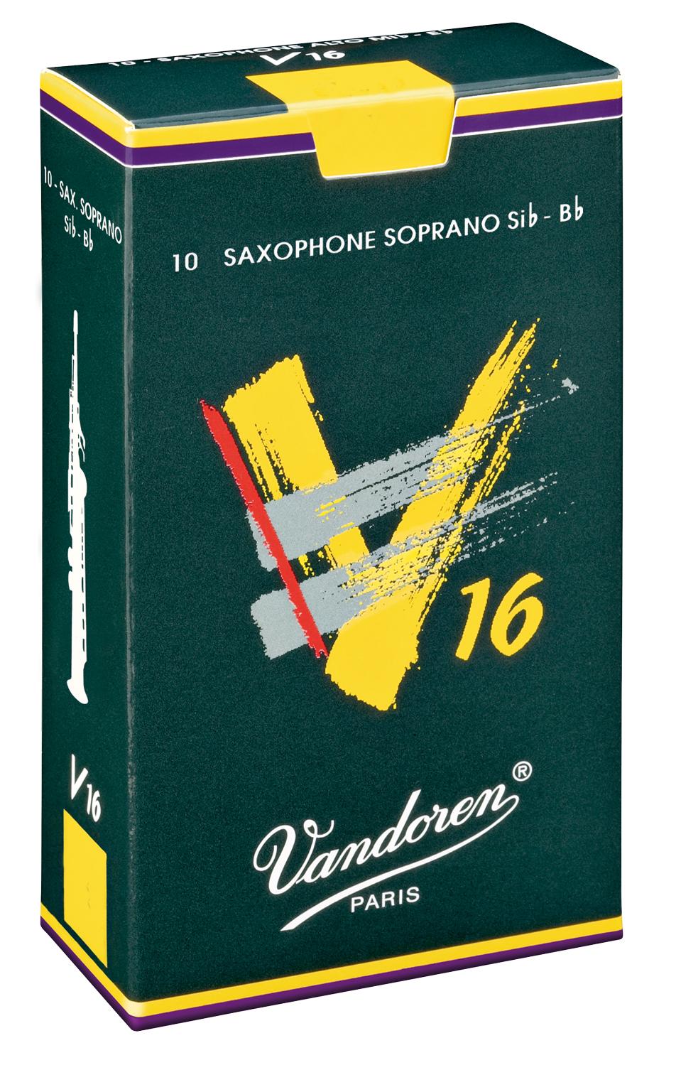Vandoren Reeds Soprano Sax 3 V16 10 BOX