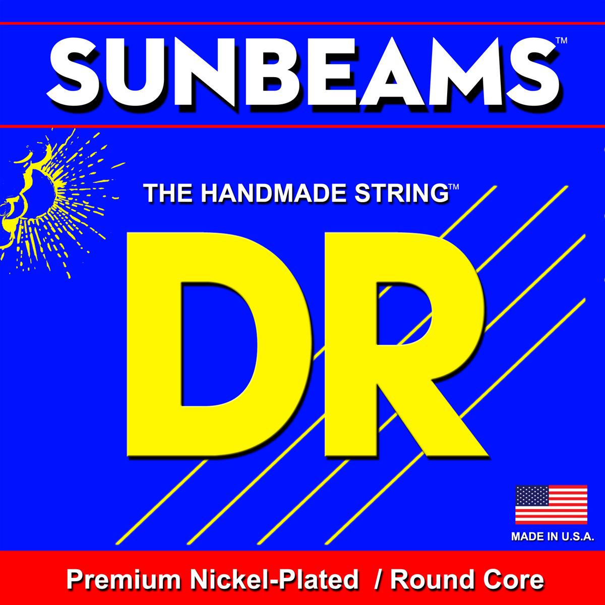 DR Strings Sunbeam Round Core Bass Light-Light