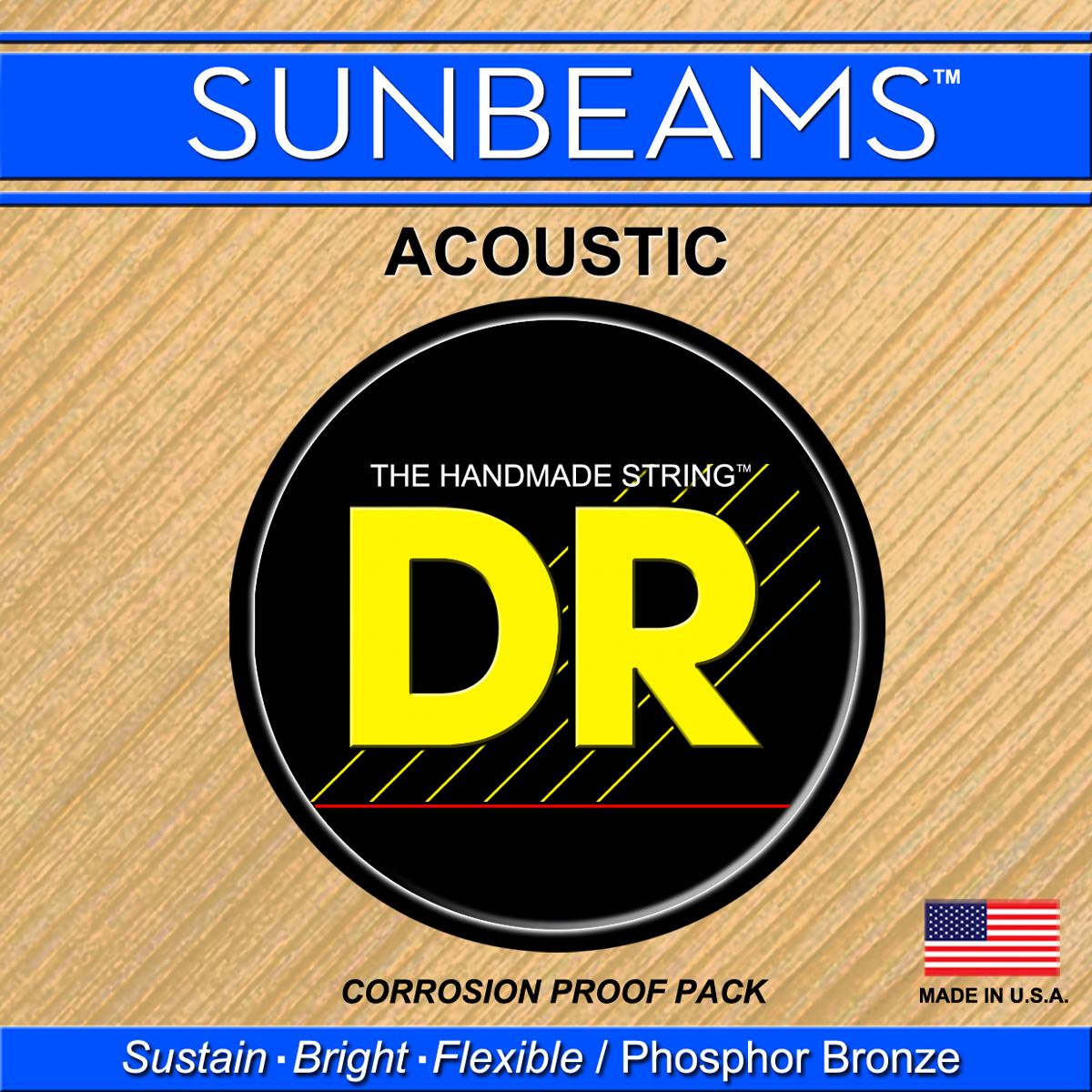 DR Strings Sunbeam Acoustic String E 0 054