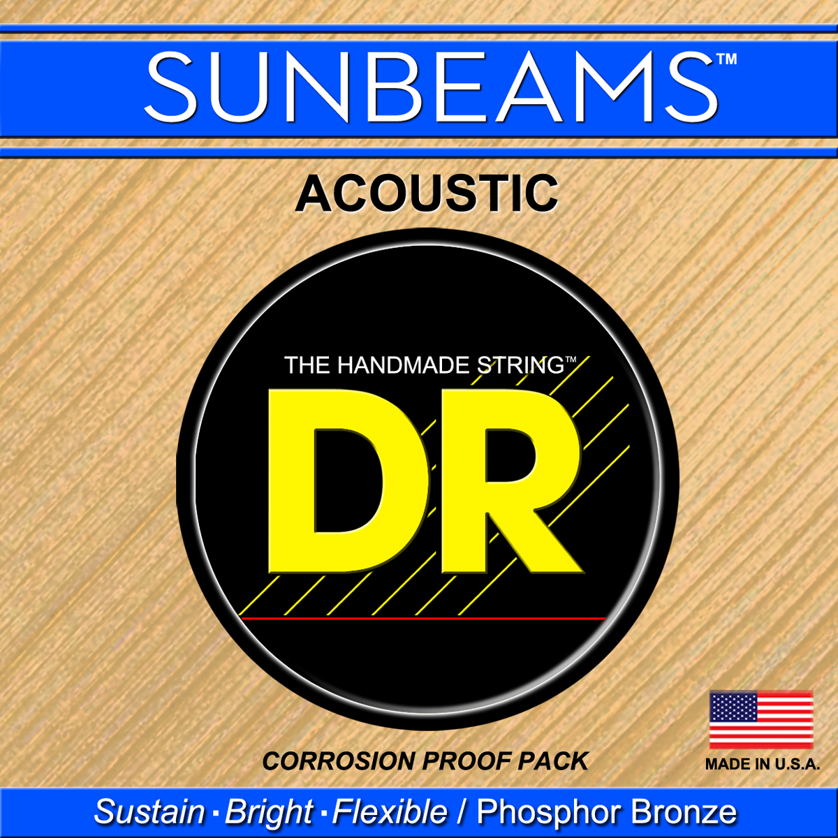 DR Strings Sunbeam Acoustic Medium - Heavy
