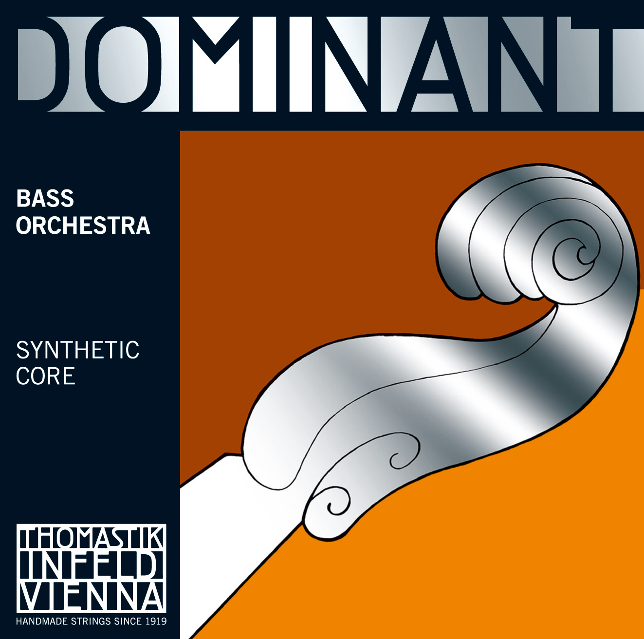 Dominant Double Bass A Chrome Wound 3/4