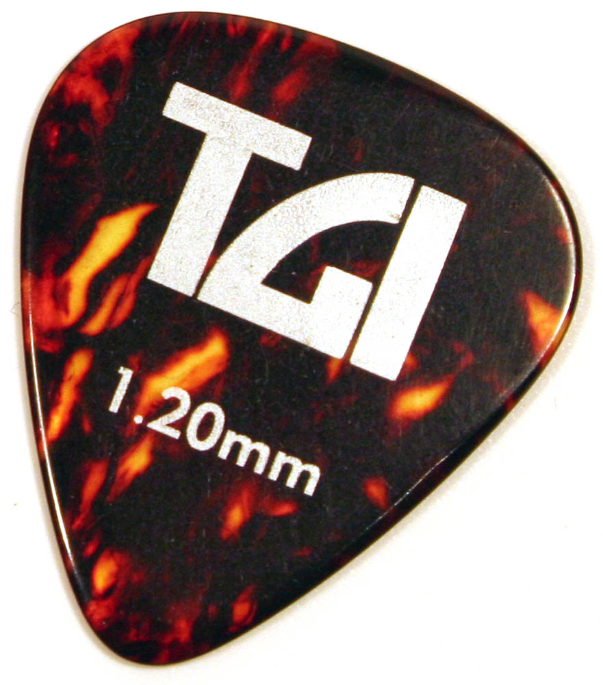 TGI Plectra T-Shell Pick - 6 Pack 1 20mm