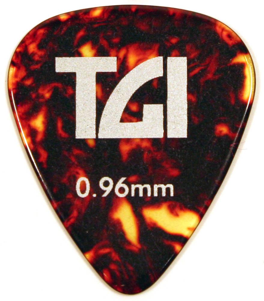 TGI Plectra T-Shell Pick - 6 Pack 0 96mm