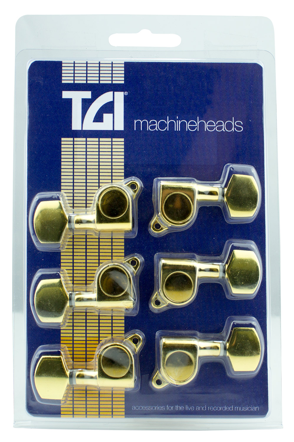 TGI Machineheads Electric 6 a Side M6 Style Gold