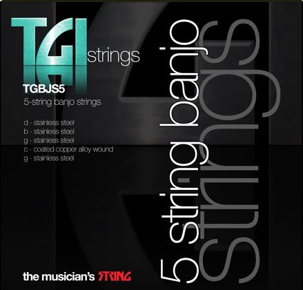 TGI Strings Banjo 5 String Set