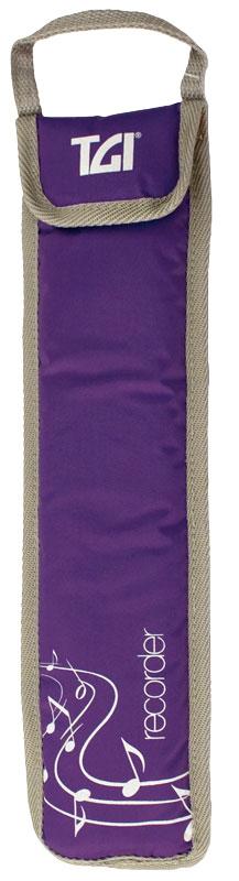 TGI Recorder Bag Purple