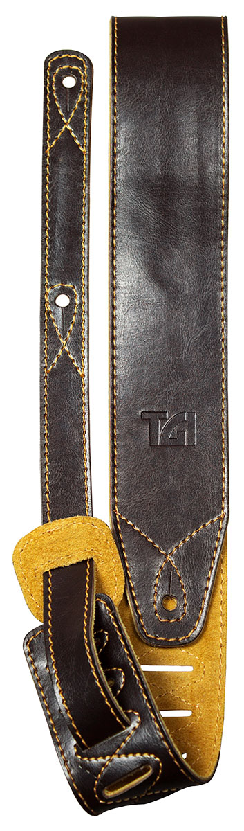 TGI Strap Brown Leather with Suede Back