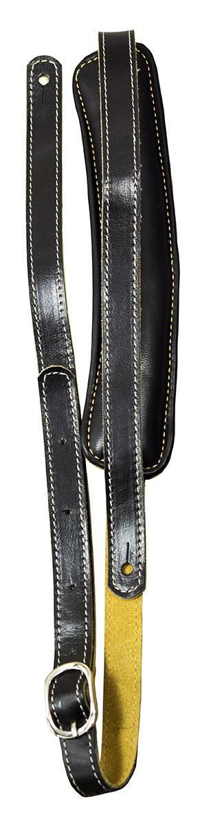 TGI Strap Vintage Style Black Leather