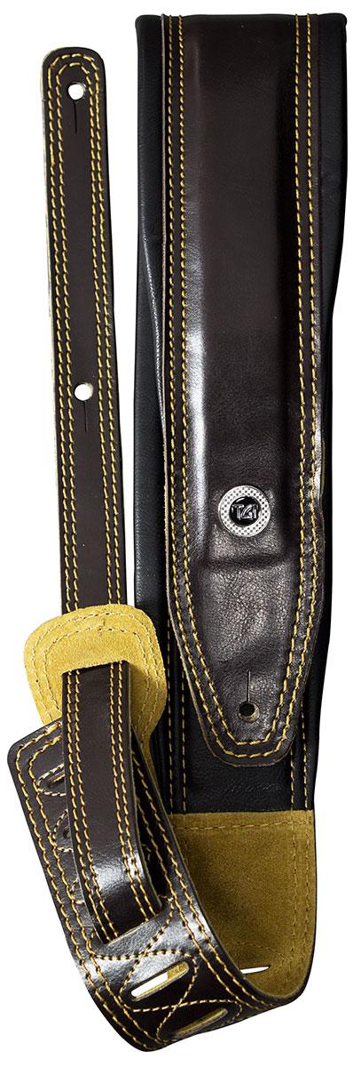 TGI Strap Padded Brown/Black Leather