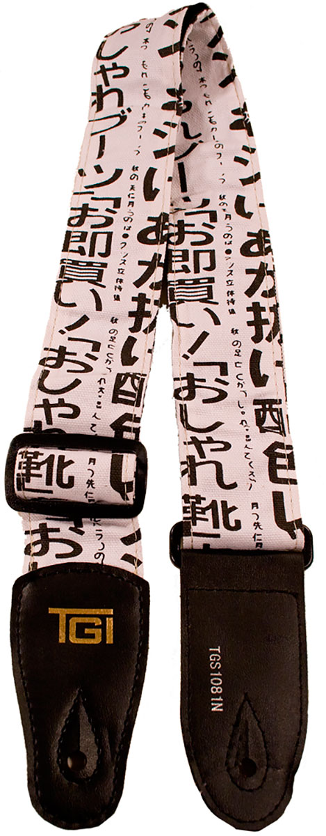 TGI Strap Japanese Text