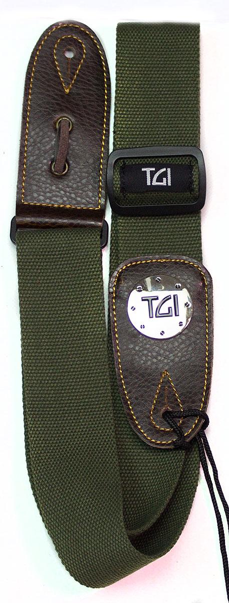 TGI Strap Woven Green