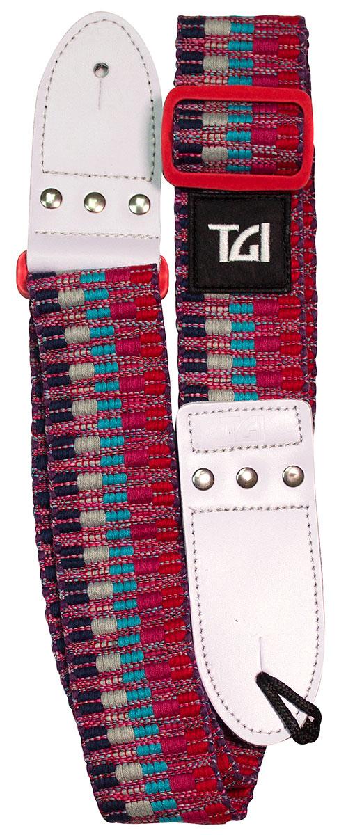 TGI Strap Woven Cotton Red