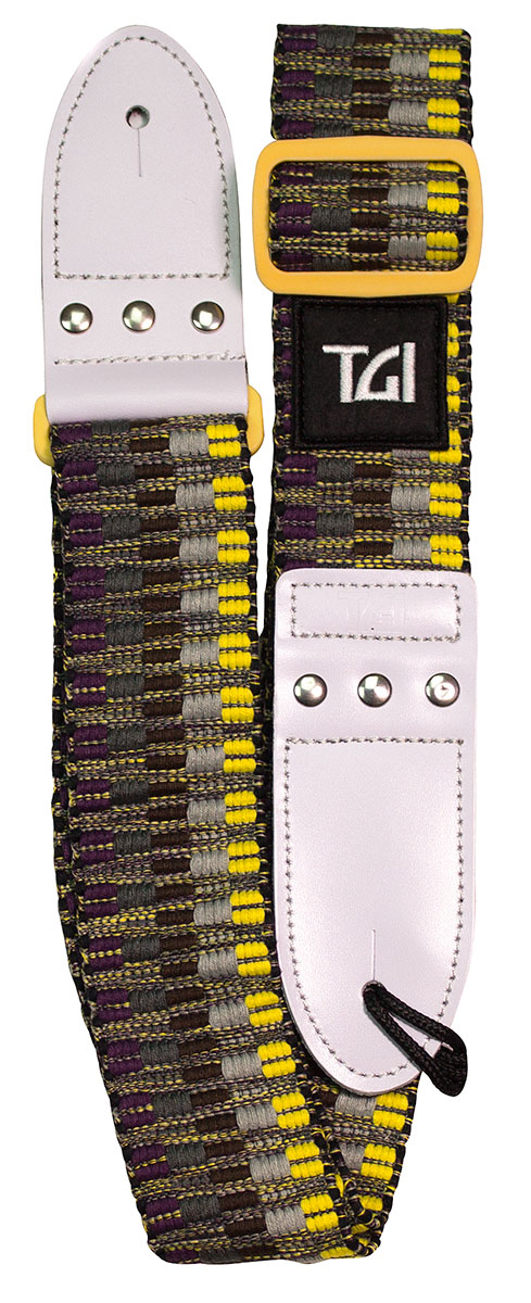 TGI Strap Woven Cotton Yellow