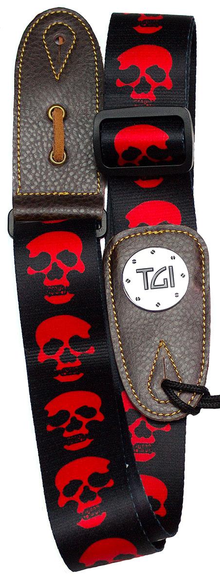 TGI Strap Skull Black