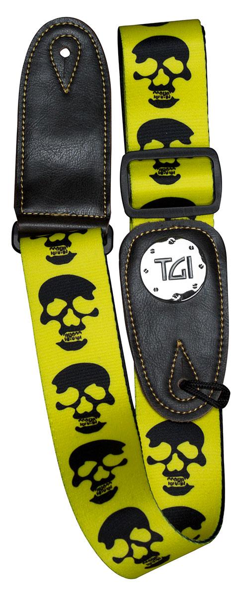 TGI Strap Skull Yellow