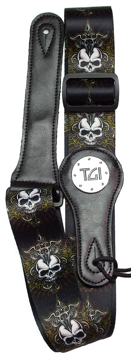 TGI Strap Skull Celtic Cross