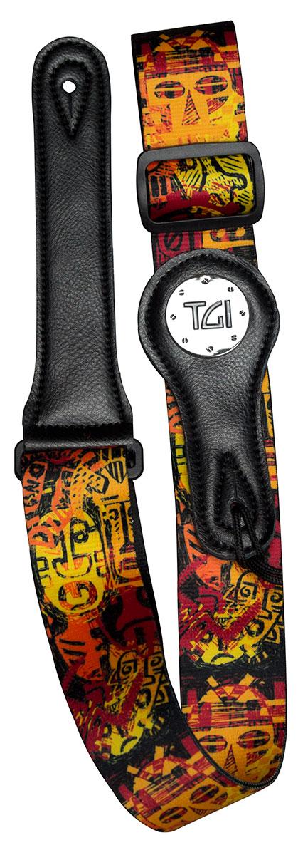 TGI Strap Tribal Mask Copper