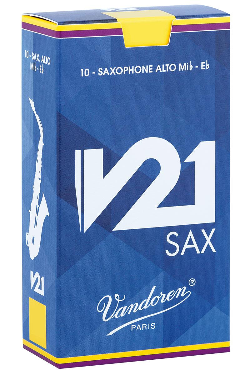 Vandoren Reeds Alto Saxophone 3 V21 10 BOX