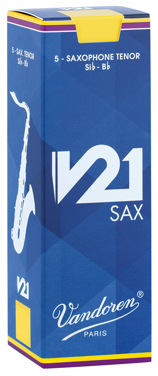 Vandoren Reeds Tenor Saxophone 3 V21 5 BOX