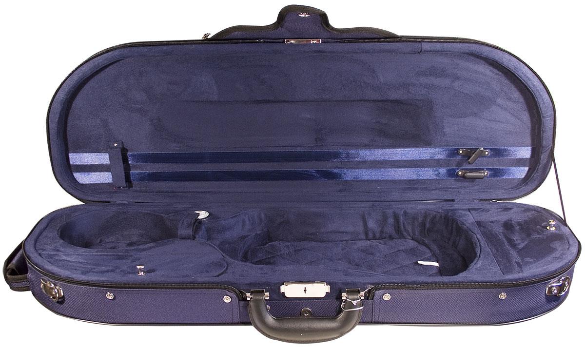Hidersine Case Violin Super Light D-Shaped