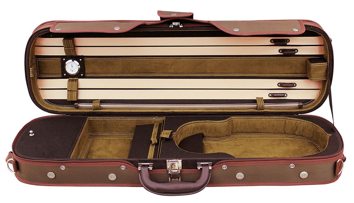 Hidersine Case Violin 4/4 Light Oblong