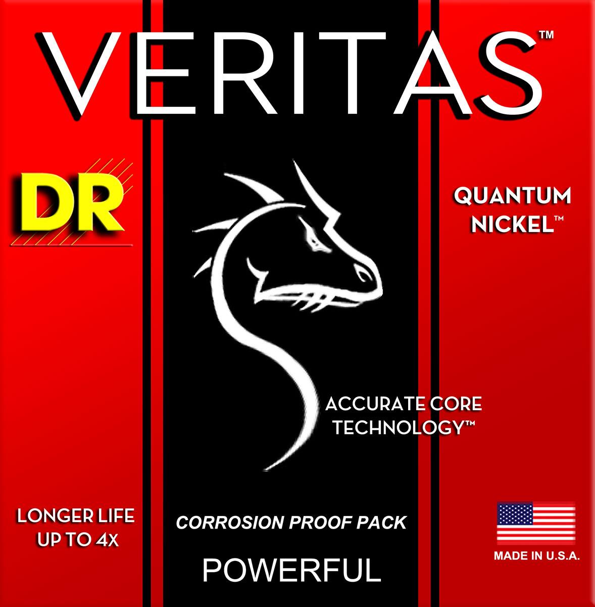 DR Strings Veritas Electric Light - Heavy