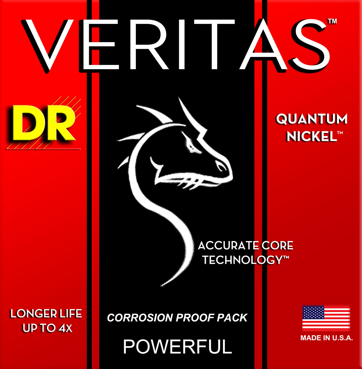 DR Strings Veritas Electric Medium