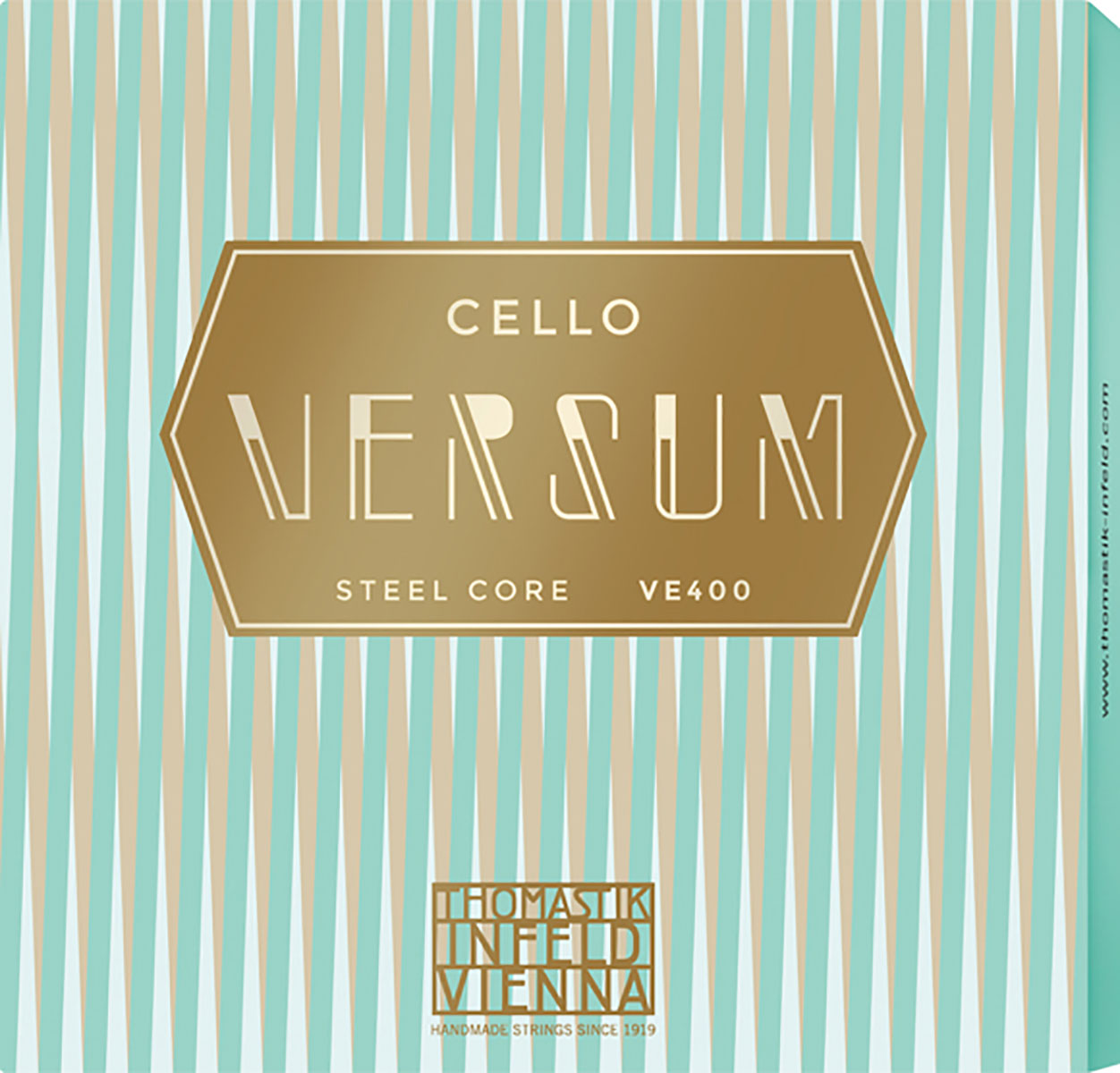 Versum Cello String A + D Pack Multialloy Wound, Steel Core