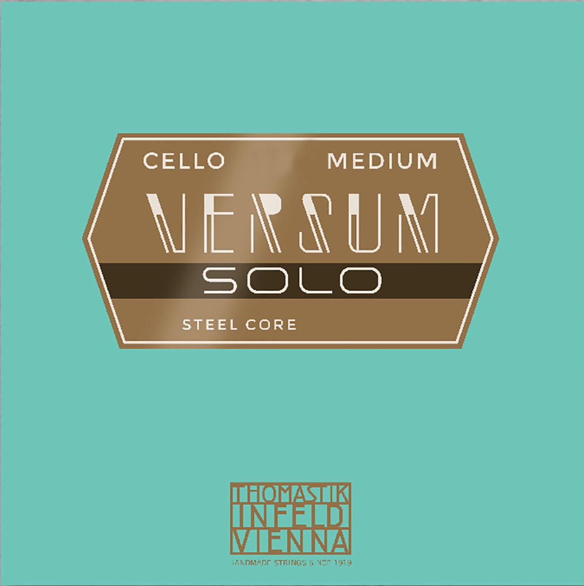 Versum Solo Cello String A Multialloy Wound, Steel Core