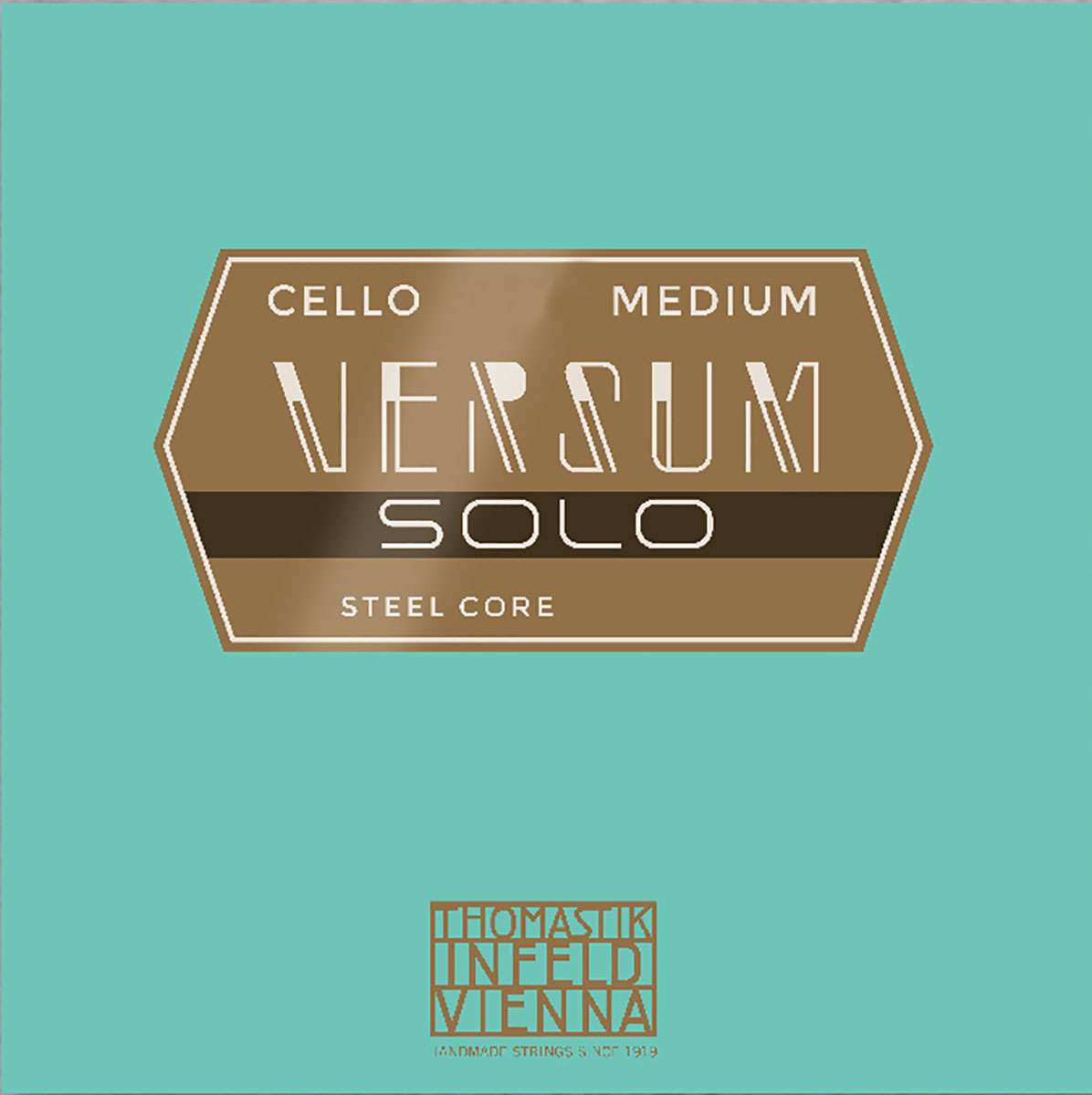 Versum Solo Cello String D Multialloy Wound, Steel Core