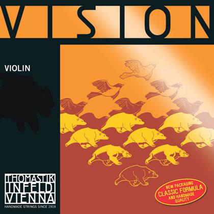 Vision Violin D Silver 4/4 - Strong R