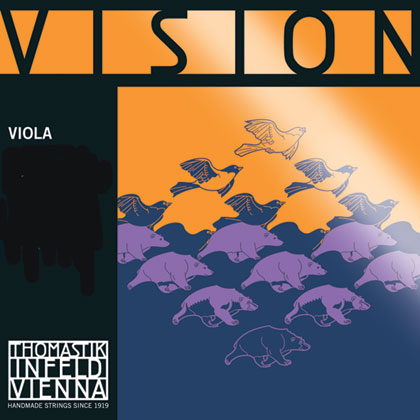 Vision Viola C Synthetic Core Tungsten-Silver Wound 4/4