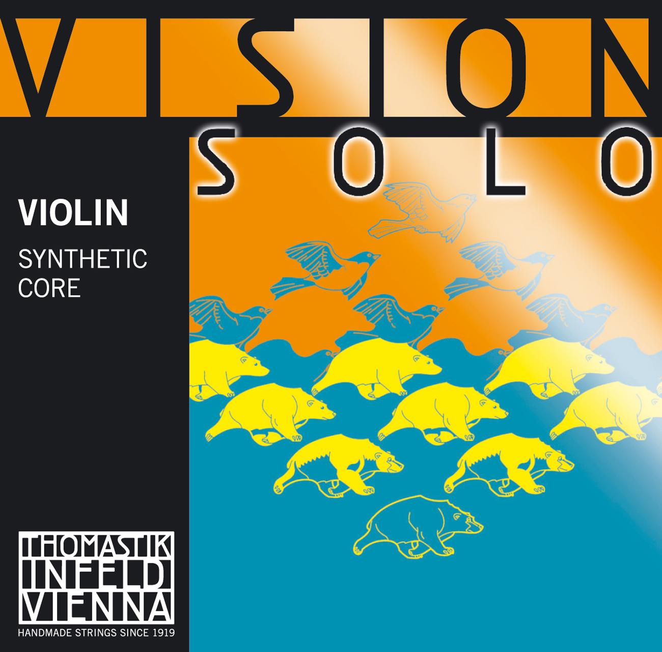 Vision Solo Violin D Silver Wound