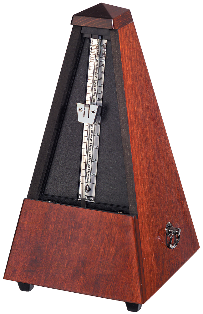 Wittner Metronome Wooden Mahogany Colour Highly Polished