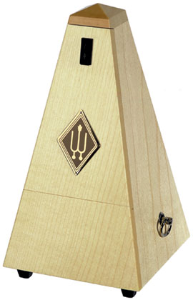 Wittner Metronome Wooden Natural Maple Matt Silk