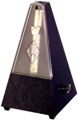 Wittner Metronome Plastic Black With Bell