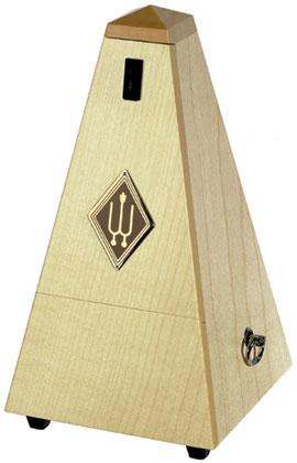 Wittner Metronome Wooden Natural Maple Matt Silk w/Bell