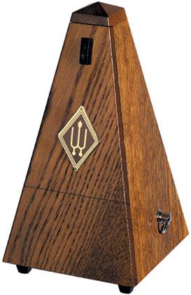Wittner Metronome Wooden Brown Oak Matt Silk With Bell