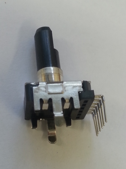 50KBX2 DL 12MM ROTARY WITH DETENT