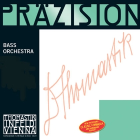 Precision Double Bass B. Chrome Wound 4/4