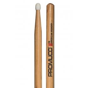 Promuco Drumsticks - Hickory 5B Nylon Tip