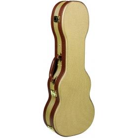TGI Concert Ukulele Tweed Wooden Case