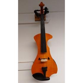 Hidersine Electric Violin Outfit - Flamed Maple Veneer- B-Grade Stock- CL1188