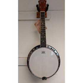 Barnes & Mullins Banjo Ukulele- B-Grade Stock- CL1222