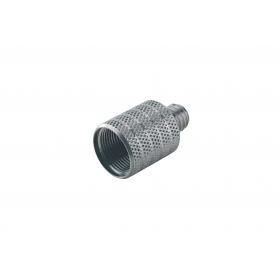 K&M Thread Adapter Zinc Plated 5/8 inch