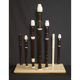 Aulos Recorder Display Stand