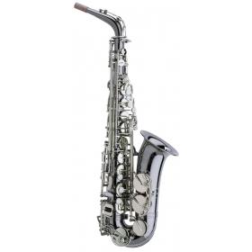Trevor James Horn Classic II Alto Sax Outfit - Black. Silver Keys