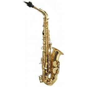 Trevor James SR Alto Sax Outfit - Gold Lacquer
