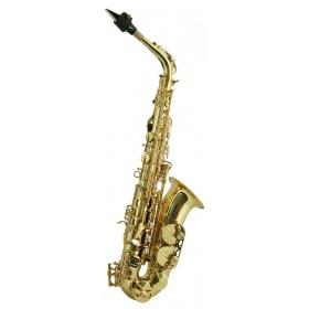 Trevor James SR Alto Sax Outfit - Bronze. Gold Lacquer Keys