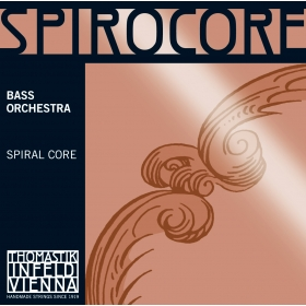 Spirocore Double Bass String SOLO B Chrome Wound 3/4*R